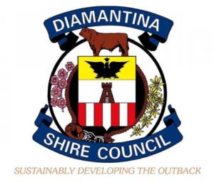 Diamantina Shire Council logo